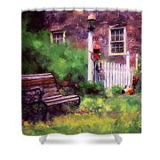 Country Garden Shower Curtain