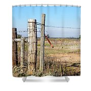 Country Gate Shower Curtain