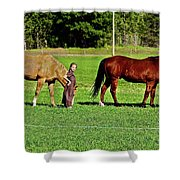 Country Girls Shower Curtain