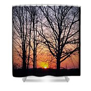 Country Glow Shower Curtain