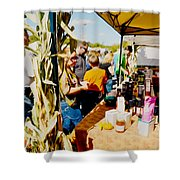 Country Herbs 1 Shower Curtain