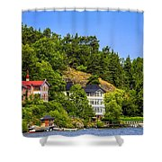 Country Homes Shower Curtain