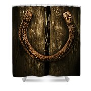 Country Luck Shower Curtain