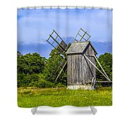 Country Mill Shower Curtain