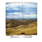 Country Mountain Roads No. 2 Shower Curtain