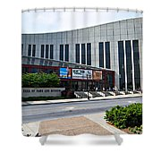 Country Music Hall Of Fame Nashville Shower Curtain