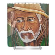Country Rasta  Shower Curtain