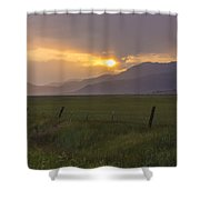 Country Serenity Shower Curtain