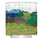 Country Sky Shower Curtain