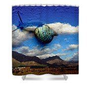 Country Snail Shower Curtain