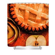 Country Style Baking Shower Curtain