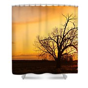 Country Sunrise Shower Curtain
