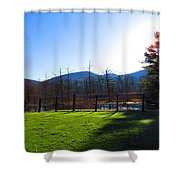 Country Sunshine Shower Curtain
