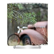 Country Truck Shower Curtain