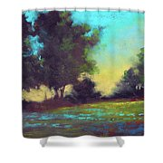 Country Twilight Shower Curtain