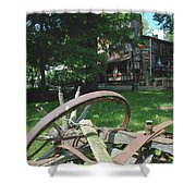 Country Wagon Shower Curtain