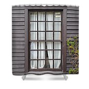 Country Window Shower Curtain