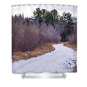 Country Winter 13 Shower Curtain