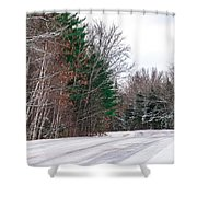 Country Winter 9 Shower Curtain