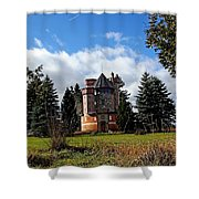 Countryside Castle Shower Curtain