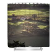 Countryside Dreaming Shower Curtain