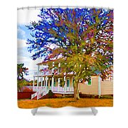 Countryside House 1 Shower Curtain