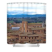 Countryside In Siena Shower Curtain