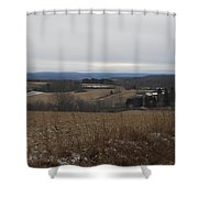 Countryside View  Shower Curtain