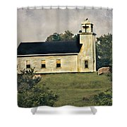 County Chruch Shower Curtain