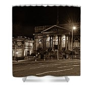 County Sessions House By Night Liverpool Shower Curtain