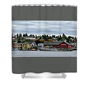 Coupeville Delight Shower Curtain
