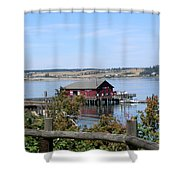 Coupeville Wharf II Shower Curtain