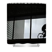 Couple At The Window Shower Curtain