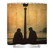 Couple Shower Curtain