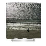 Couple Seascape Shower Curtain