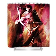 Couple Tango Art Shower Curtain