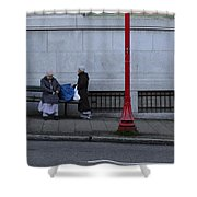 Coupons Collected  Shower Curtain
