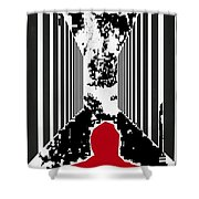 Courage To Proceed Shower Curtain