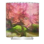 Courage Tree Shower Curtain