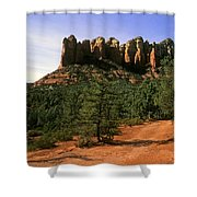 Court House Butte Shower Curtain
