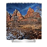 Court Of The Patriarchs II Shower Curtain