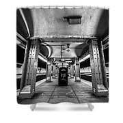 Court Street Subway Shower Curtain