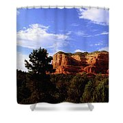 Courthous Butte Shower Curtain
