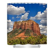Courthouse Butte Shower Curtain