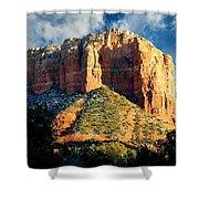 Courthouse Butte - Sedona Arizona Shower Curtain