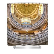 Courthouse Dome Shower Curtain
