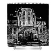 Courthouse In Kansas Shower Curtain