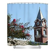 Courthouse In Spring Shower Curtain