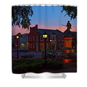 Courthouse Square Shower Curtain