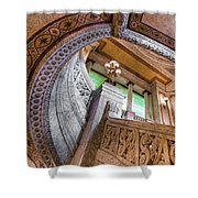 Courthouse Stairs Shower Curtain
